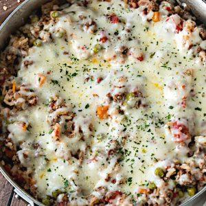 cheesy italian rice