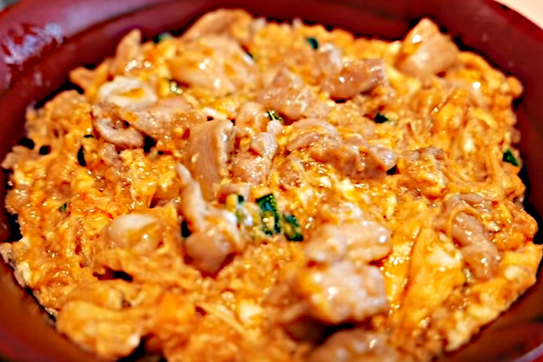 chicken egg omelette