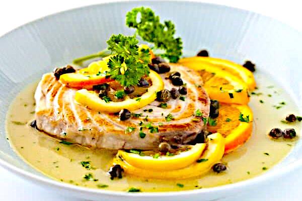 fish lemon caper sauce