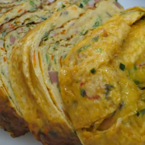 korean rolled omelette