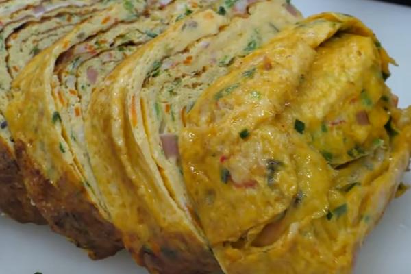 korean rolled omelette