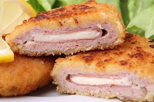 fried pork cordon blue
